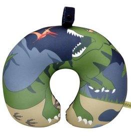 Bobble Art Bobble Art Travel Pillow Dinosaur