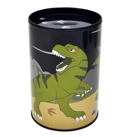 Bobble Art Bobble Art Tin Money Box Dinosaur