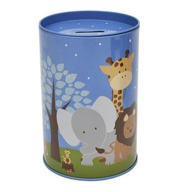 Bobble Art Bobble Art Tin Money Box Safari