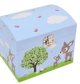 Bobble Art Bobble Art Dome Jewellery Box Woodland