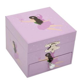 Bobble Art Bobble Art Small Square Jewellery Box Fairy
