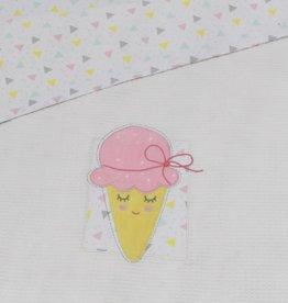 Lolli Living Lolli Living Ice Cream Cot waffle blanket