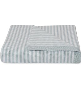 Living Textiles Living Textiles Knitted Stripe Blanket