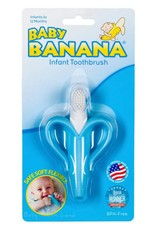 Baby Banana Training Toothbrush for Infants - Blue