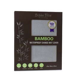 Bubba Blue Bubba Blue Grey Bamboo Change Mat Cover (waterproof)