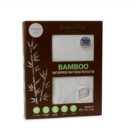Bubba Blue Bubba Blue Bamboo- Round Cot Mattress Protector