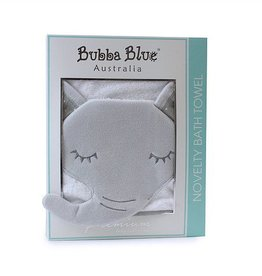 Bubba Blue Bubba Blue Petit Elephant Novely Bath Towel