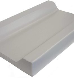 White BabyRest Deluxe Change Mattress With Towelling Cover Boori 800 x 480 x