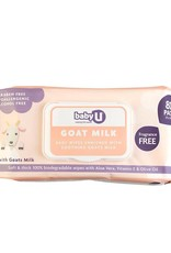 Baby U Baby U Goat Milk Wipes 80pk