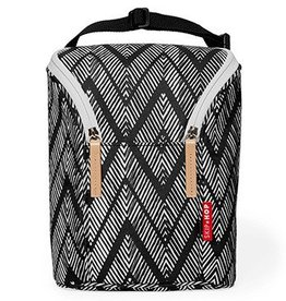 Skip Hop Skip Hop Double Bottle Bag - Zig Zag Zebra