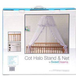 Sweet Dreams Sweet Dreams Halo Stand & Net Set White