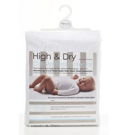Sweet Dreams Sweet Dreams Cot Mattress Protector High & Dry