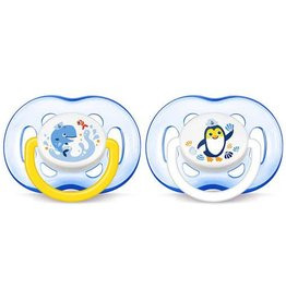 Avent Avent silicone soother 18M+