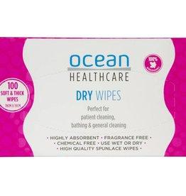 Ocean Healthcare Ocean Healthcare Dry Wipes 100pk