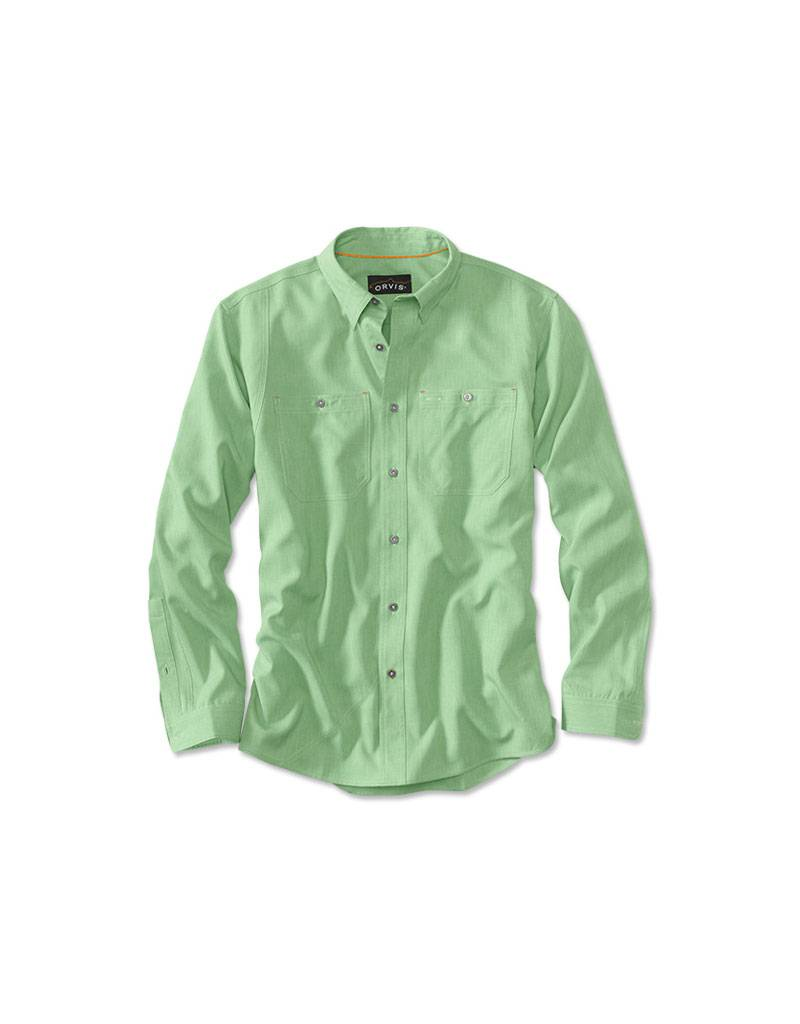 Orvis Men's Tech Chambray Work Shirt
