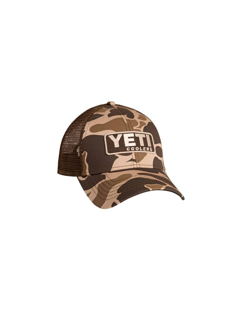 Yeti Camo Patch Trucker Hat