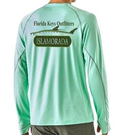 Patagonia M's Sunshade Crew Isla Logo -