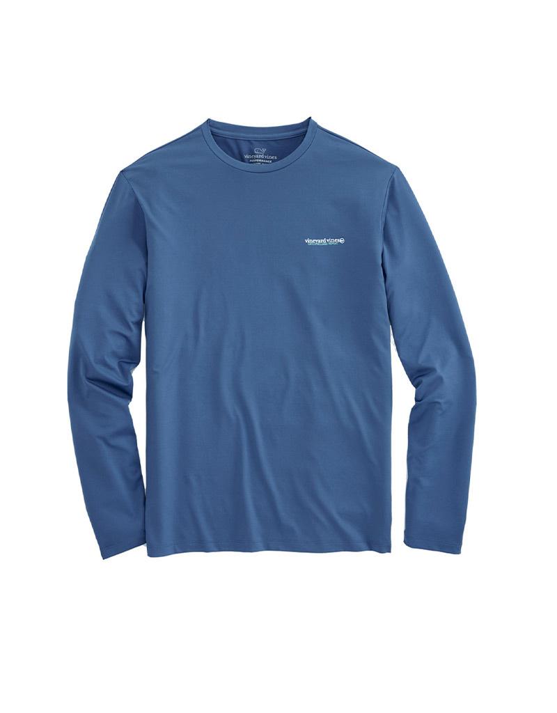 Vineyard Vines Performance FKO Logo Shirts L/S