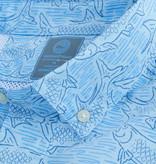 Vineyard Vines Tarpon Sketch FKO S/S Shirt