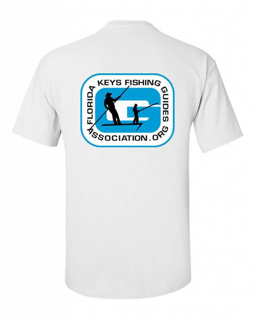 FL Keys Fishing Guides Assoc. Blue S/S Tee