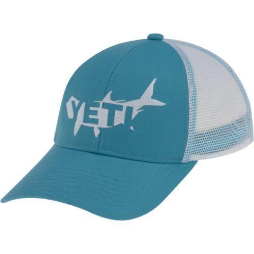 1a845b8f57e16 Yeti Hat Tarpon Trucker Teal Yeti Hat Tarpon Trucker Teal