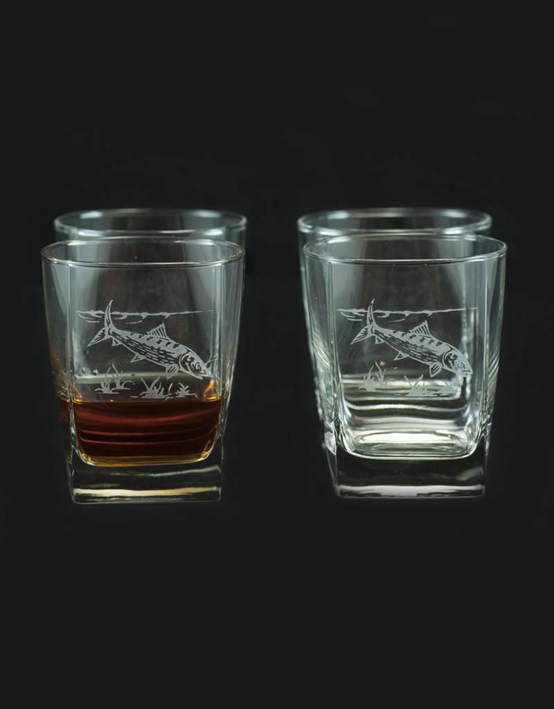 Design Impressions Square Highball Glass 4 piece