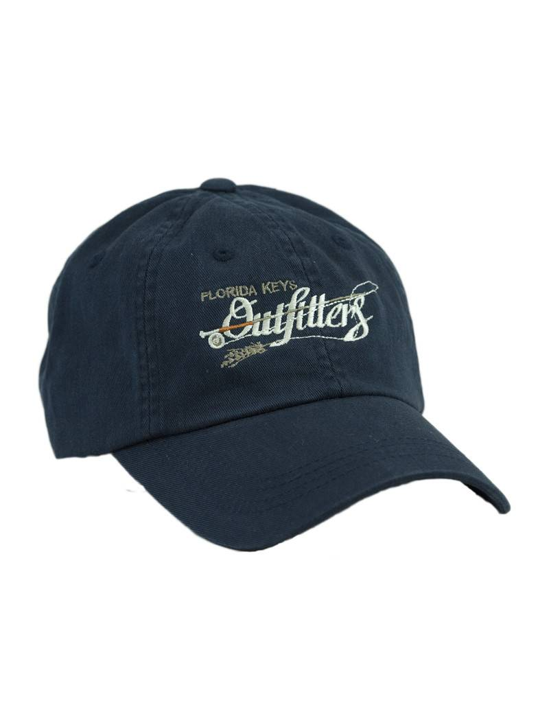 c2dfc8cdfa9 FKO Logo Twill Hat by Orvis - Florida Keys Outfitters