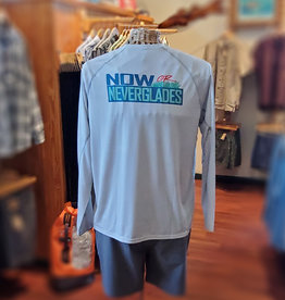 Patagonia M's Sunshade Crew #NowOrNeverglades Logo