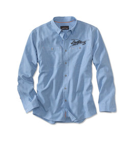 Orvis Men's FKO Logo Chambray L/S Work Shirt