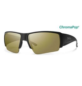 Smith Captains Choice,  Matte Black Frame,  Polarized Bronze Mirror Chrom Lens