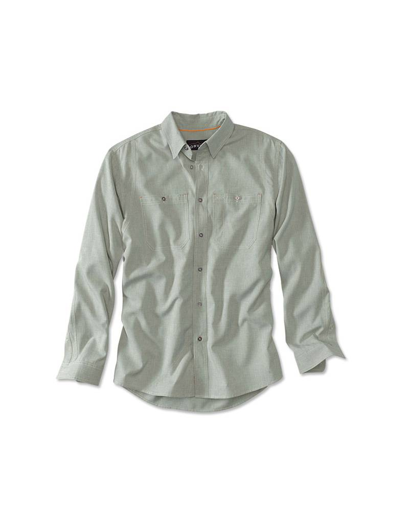 f7794649 Orvis Men's Tech Chambray Work Shirt - Florida Keys Outfitters