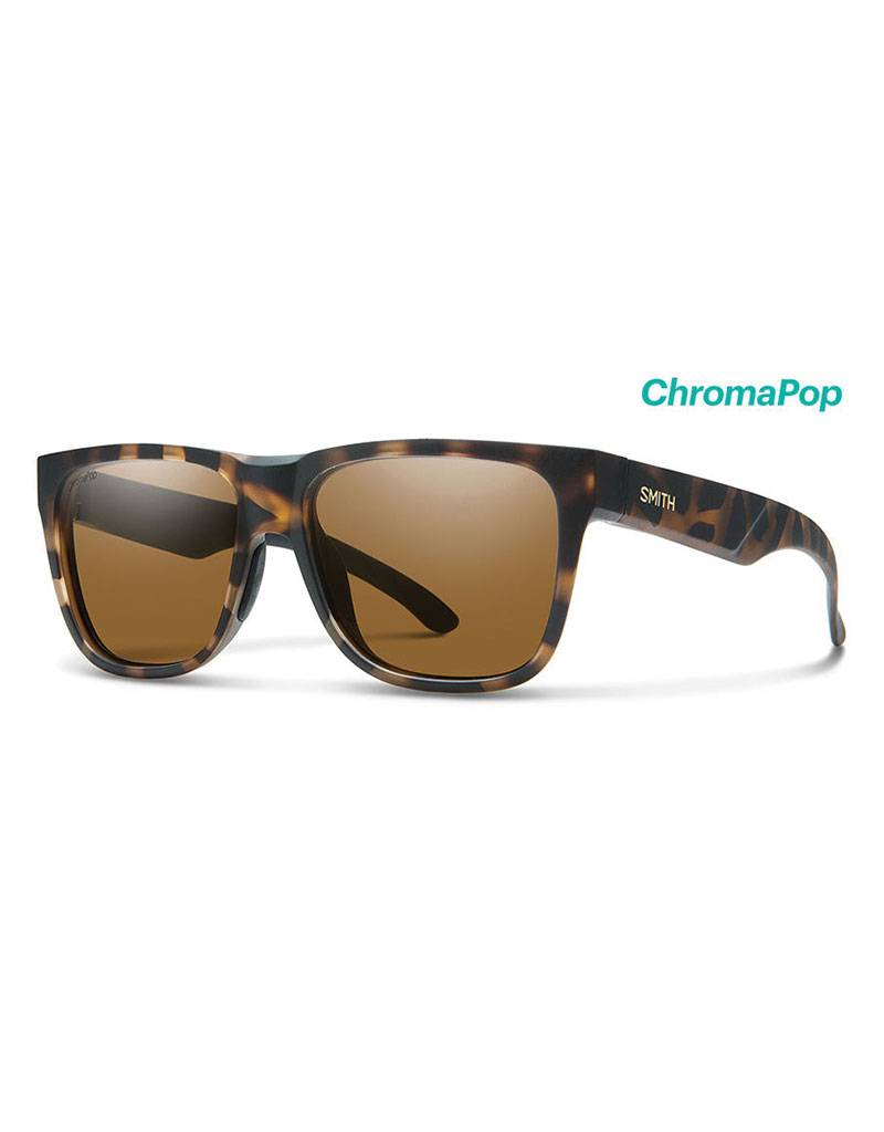 Smith Lowdown Matte Tortoise Polarized Brown
