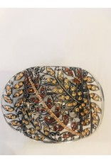 aspenelle aspenelle-Crystal Metal Yoga Claw