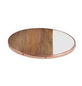 Mudpie Mudpie Copper Edge Lazy Susan