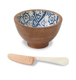 Mudpie Mudpie eyecat enamel dip bowl set