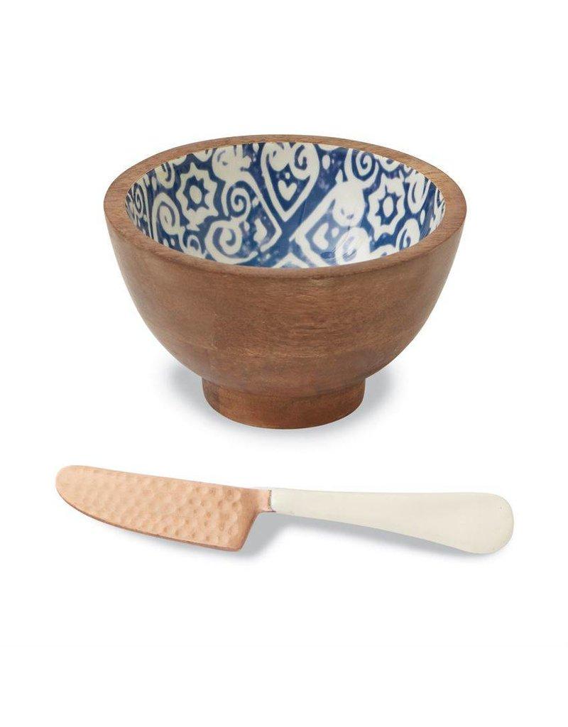 Mudpie Mudpie eyecat enamel dip bowl set-4854078E