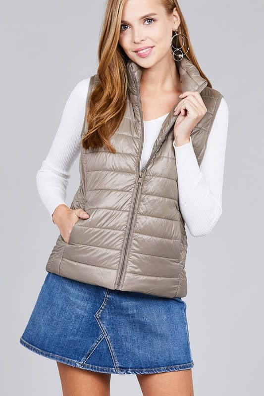 Active Basic AB-J10117 Quilted Vest