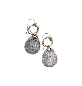 Original Hardware OH-10090 Teardrop Tapestry Earring