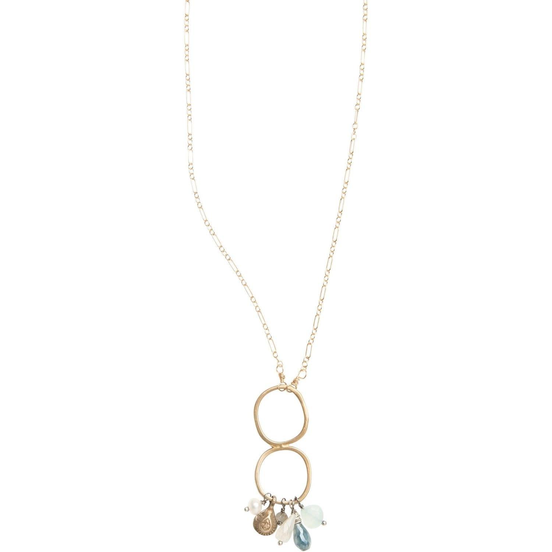 Original Hardware OH-20091 Vintage charm kyanite necklace