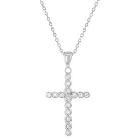 aspenelle aspenelle-braided cross neck IS