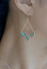 Felix Z Designs Felix Z-fan earring