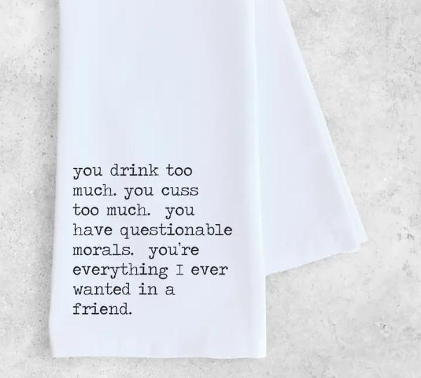Devenie Designs Devenie-Tea Towel Everything I ever wanted