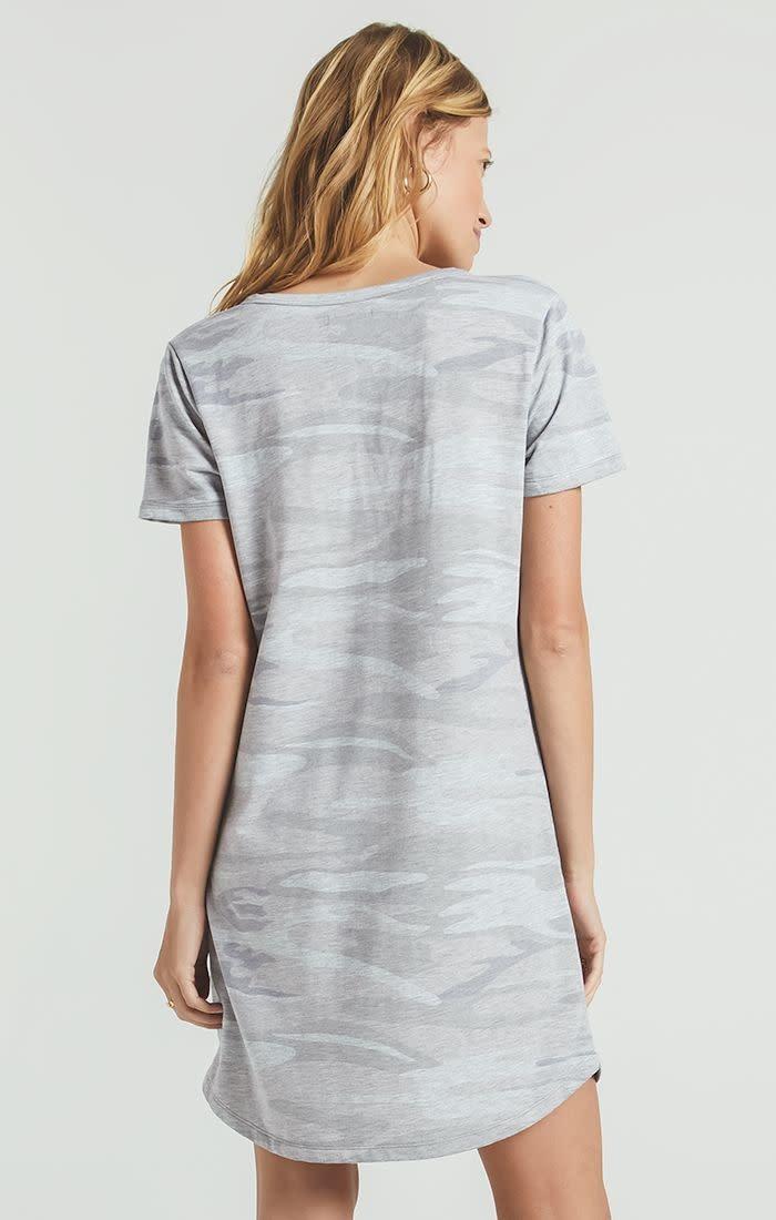Z Supply Z Supply-Camo Split Neck Dress