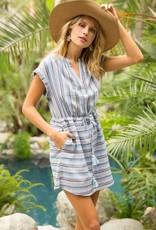 Hem&Thread Hem & Thread- 8127 Stripe Dress