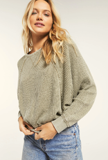Z Supply Z-Supply-Claire Waffle Long Sleeve ZT203631