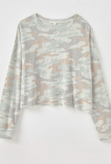 Z Supply Z Supply-Celine Camo LS