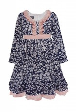 Isobella & Chloe Daisy Mae Dress Navy