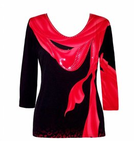 Valentina Signa 3/4 Sleeve Lycra Top