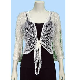 Pretty Woman Fish Net Bolero