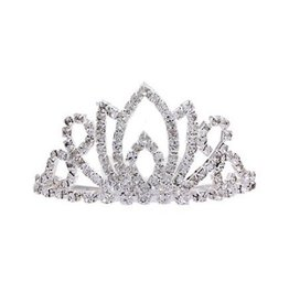 Golden Stella Tiny Marquis Tiara Comb Crystal Clear